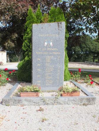 monument aux morts sainte brigitte 56