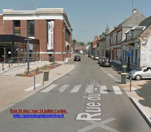 Ancienne rue Saint éloi Corbie