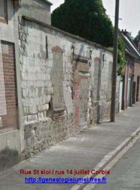 Vieux Mur de  1739