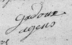 1794 gadoux Louis Joseph
