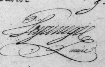 1798 peygrenegre Maire de BOnnay