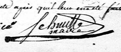 JB SMCHMITTE Maire de Franvillers