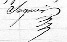 sagnier Jean Baptiste Maire de Franvillers