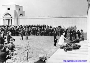 inauguration mémorial villers bretonneux fouilloy