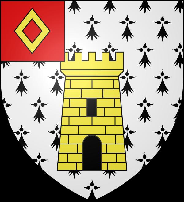 Blason commune de Sainte Brigitte 56