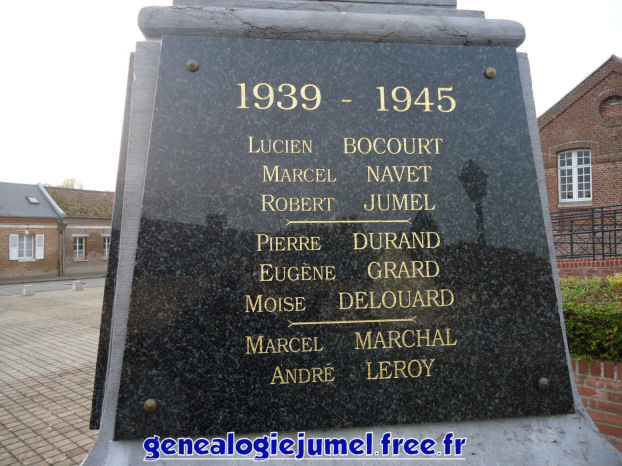 Nom monument aux morts heilly