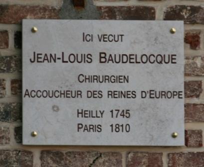 JL Baudelocque maison natale