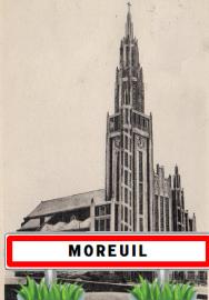 Village de Moreuil Dans la Somme