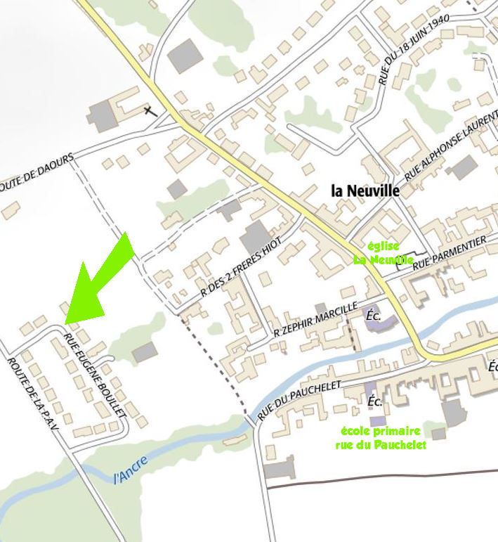 Rue Eugène boulet La Neuville Corbie