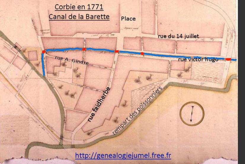 canal barette corbie