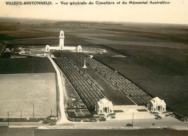 carte postale memorial