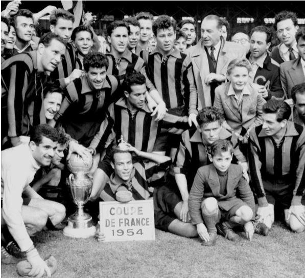 coupe de france 1954