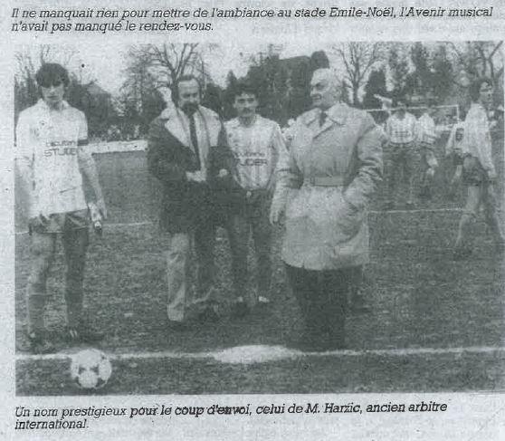 coupe france decembre 1985 ocup envoi harzic foot longeau