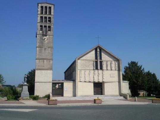 eglise Saint Mathieu de fouilloy 80
