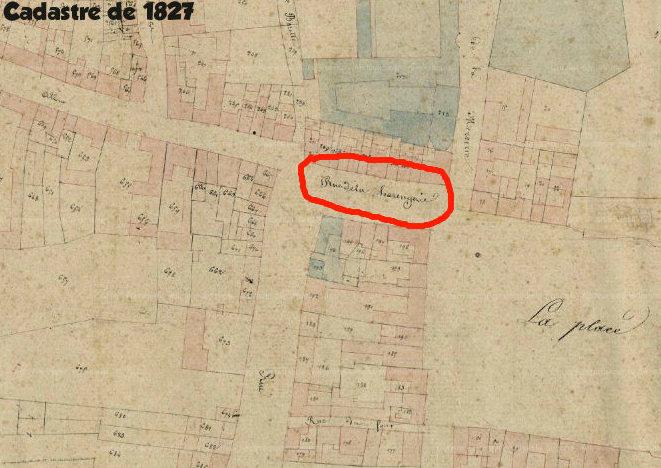 Rue de la Harangerie 1827 corbie