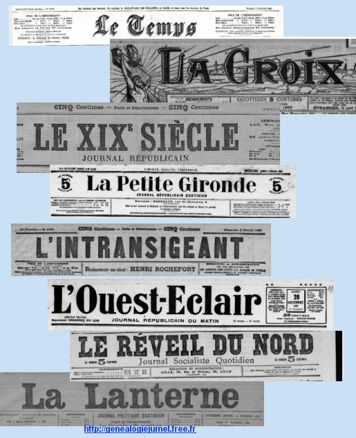 journaux corbie