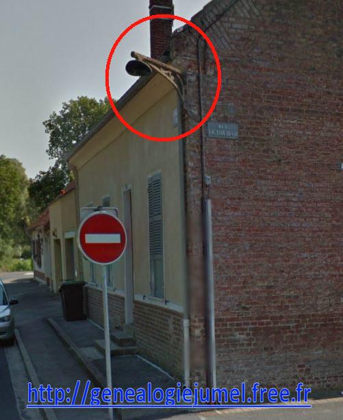 lampadaire rue victor Hugo corbie