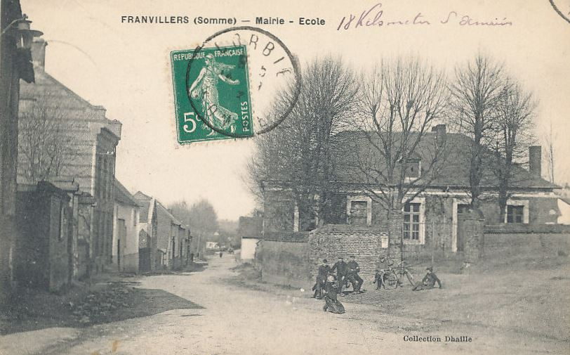 mairie ecole franvillers