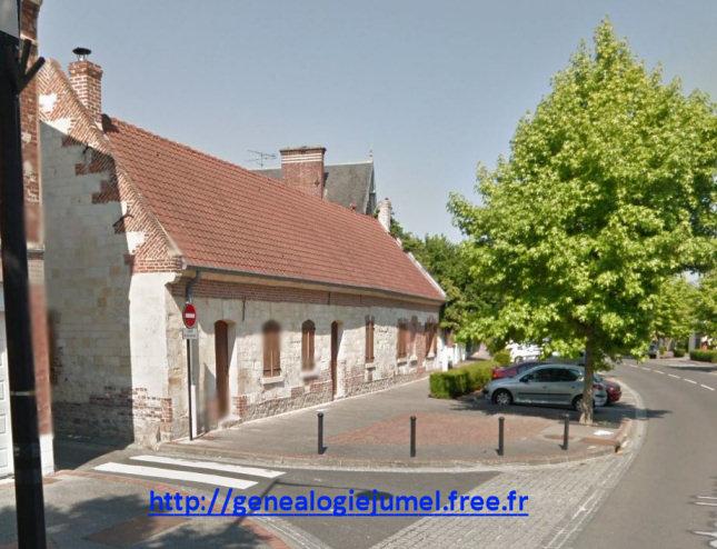 Vieille maison de la rue victor hugo corbie