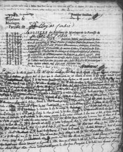 noces d'or à corbie 7/01/1761