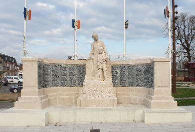 monument 1914 corbie 80 somme