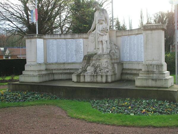 monument aux morts corbie ancien emplacement