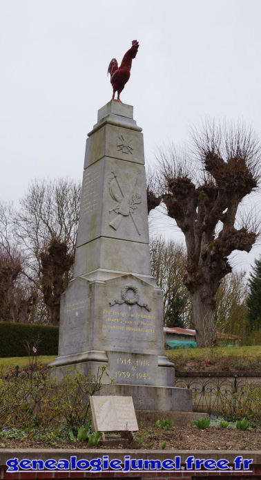 monument aux morts querrieu