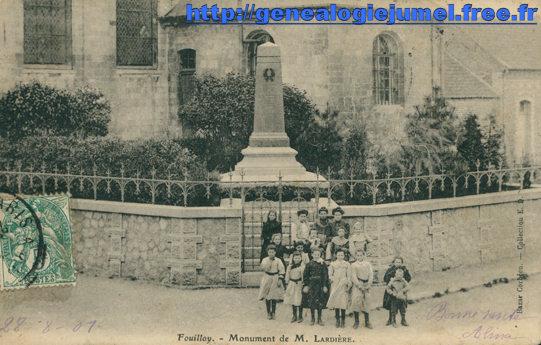 monument jules lardiere fouilloy