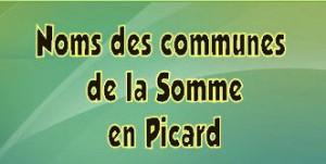 noms des communes de la Somme en picard