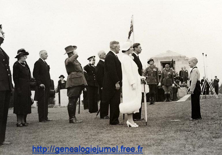 officiel cérémonie inauguration du mémorial