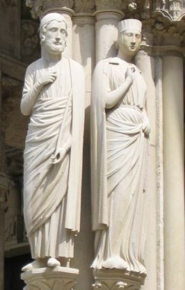 Philippe Hurepel de Clermont  et Mahaud de Damartin