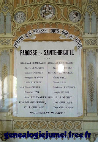 plaque eglise st brigitte