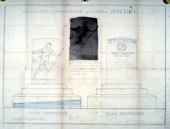 projet albert roze 1922