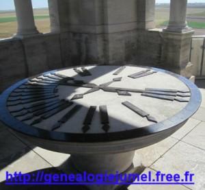 table oriantation villrs bretonneux tour
