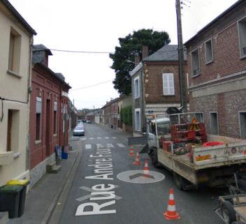 Histoire des rue de corbie dans la Somme