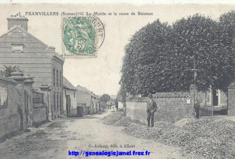 rue baizieu franvillers somme