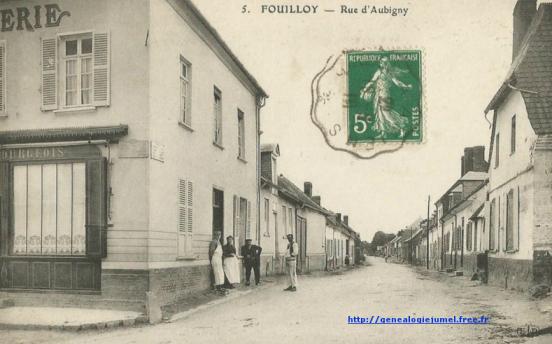 rue d aubigny fouilloy