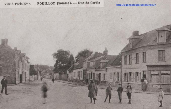rue de corbie à FOuilloy