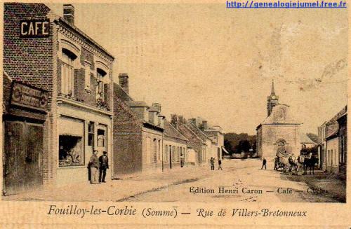 rue de villers bretonneux fouilloy