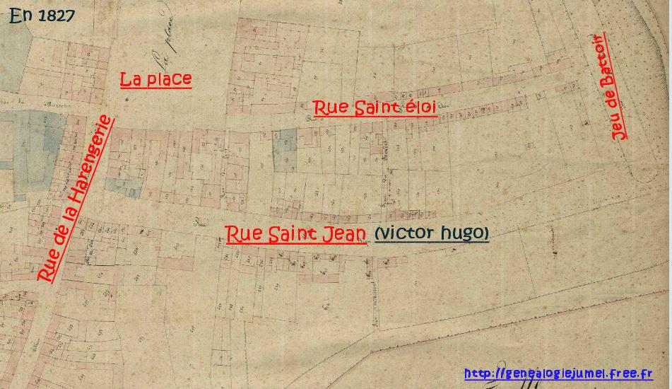 rue victor hugo corbie 1827