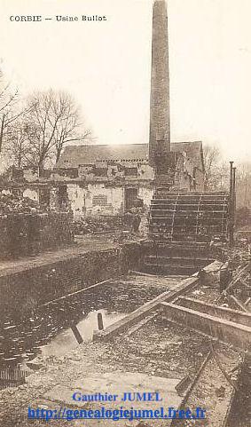 ruine usine bullot 1918