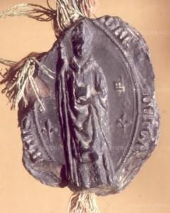 Sceau de l'abbé Garnier de Corbie