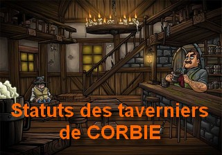 Statuts des taverniers de CORBIE