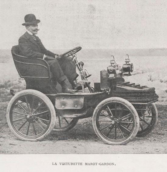 voiture Marlot faite à corbie